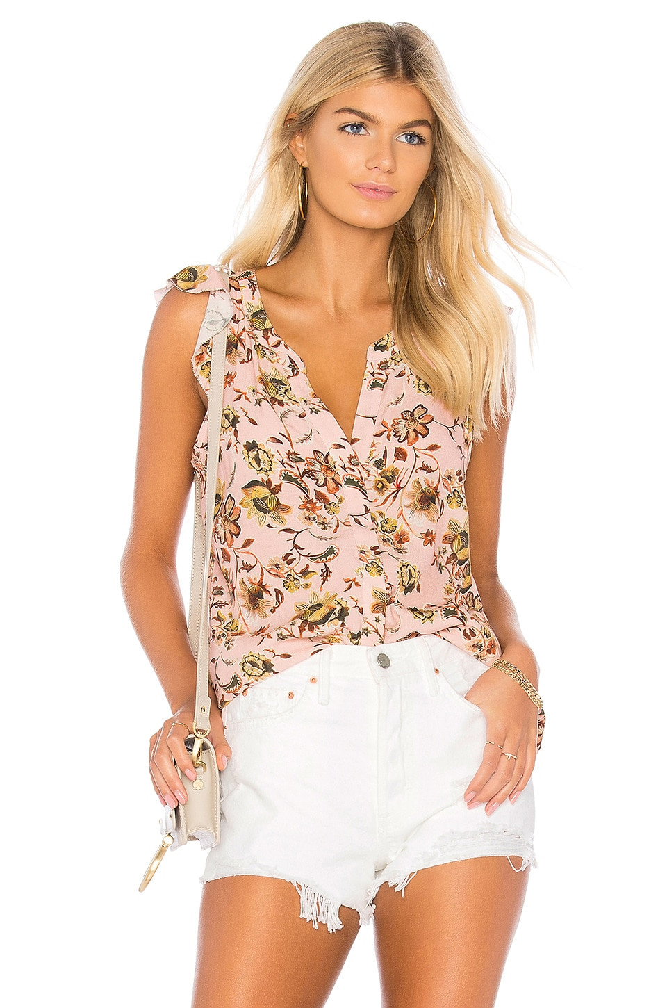 Sanctuary Ruffle Tank in Land Of Enchantment