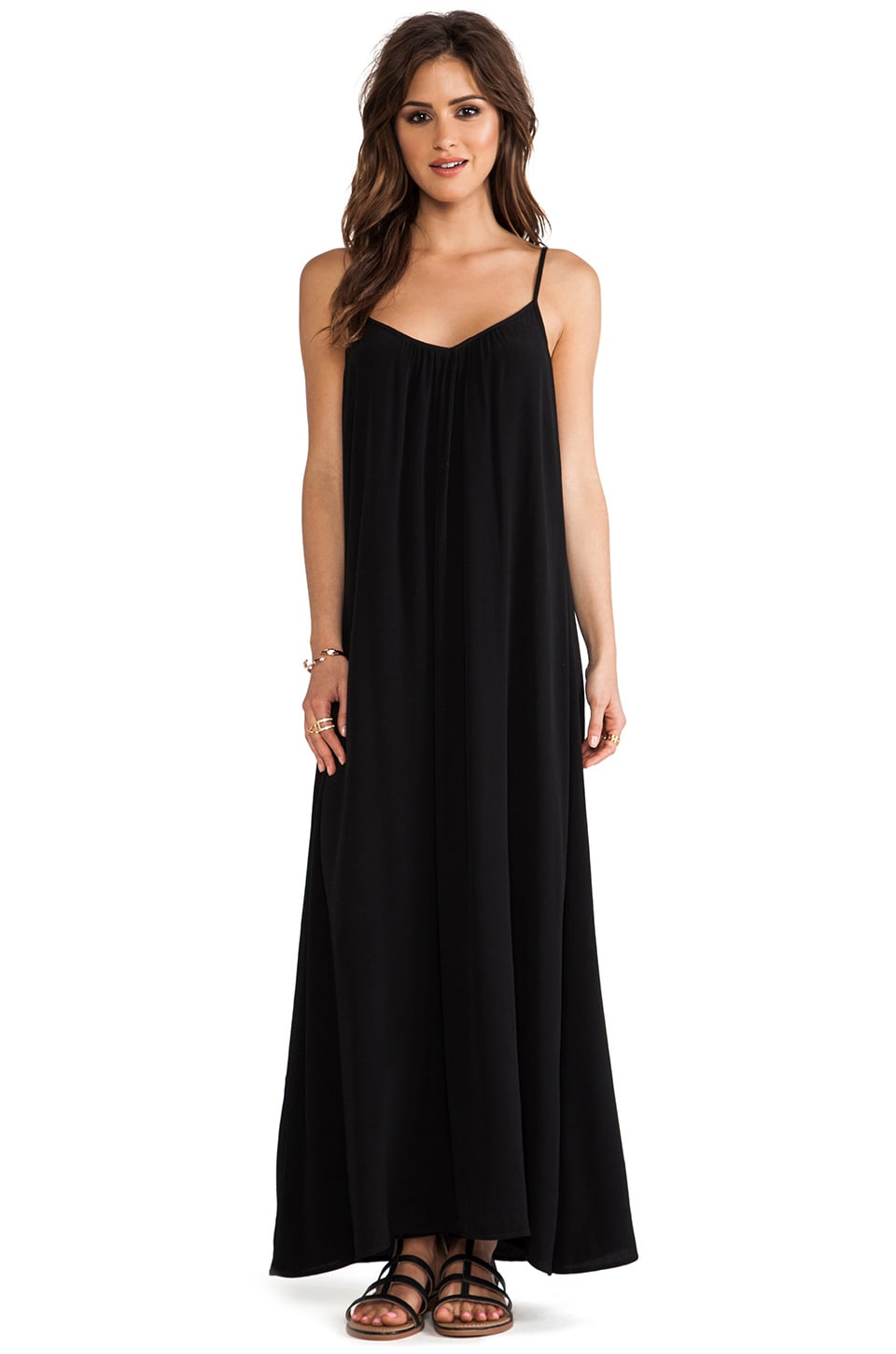 SAM&LAVI Meadow Dress in Black