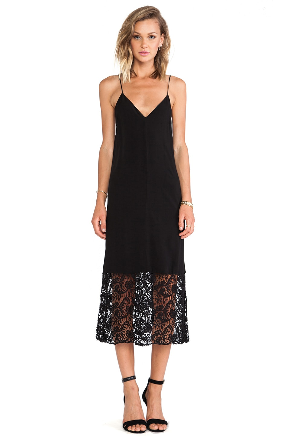 SAM&LAVI Genivee Dress in Black