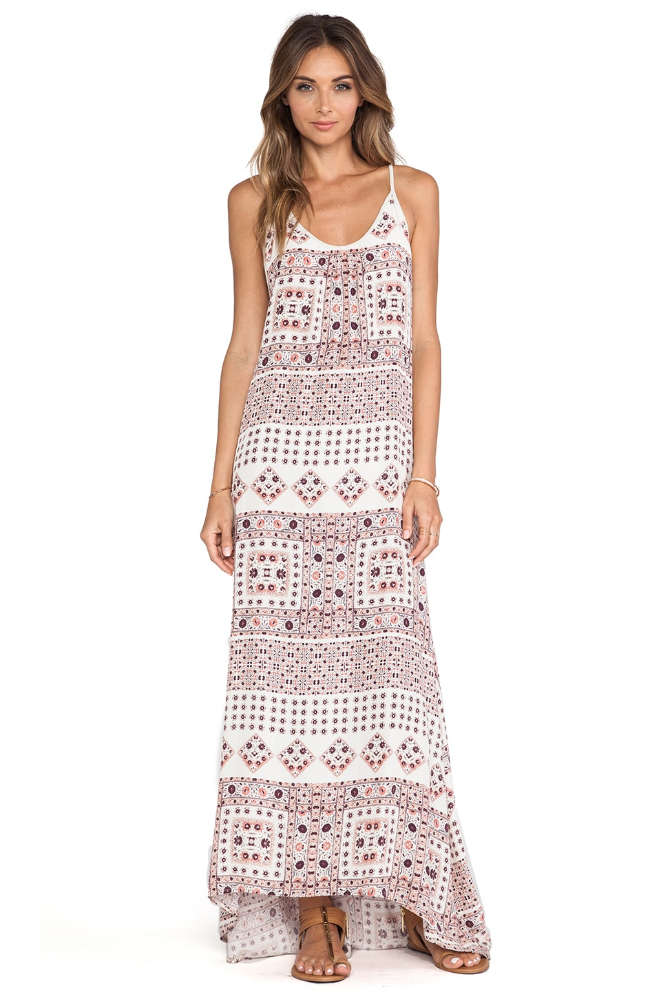 SAM&LAVI Imogen Maxi Dress in Prairie