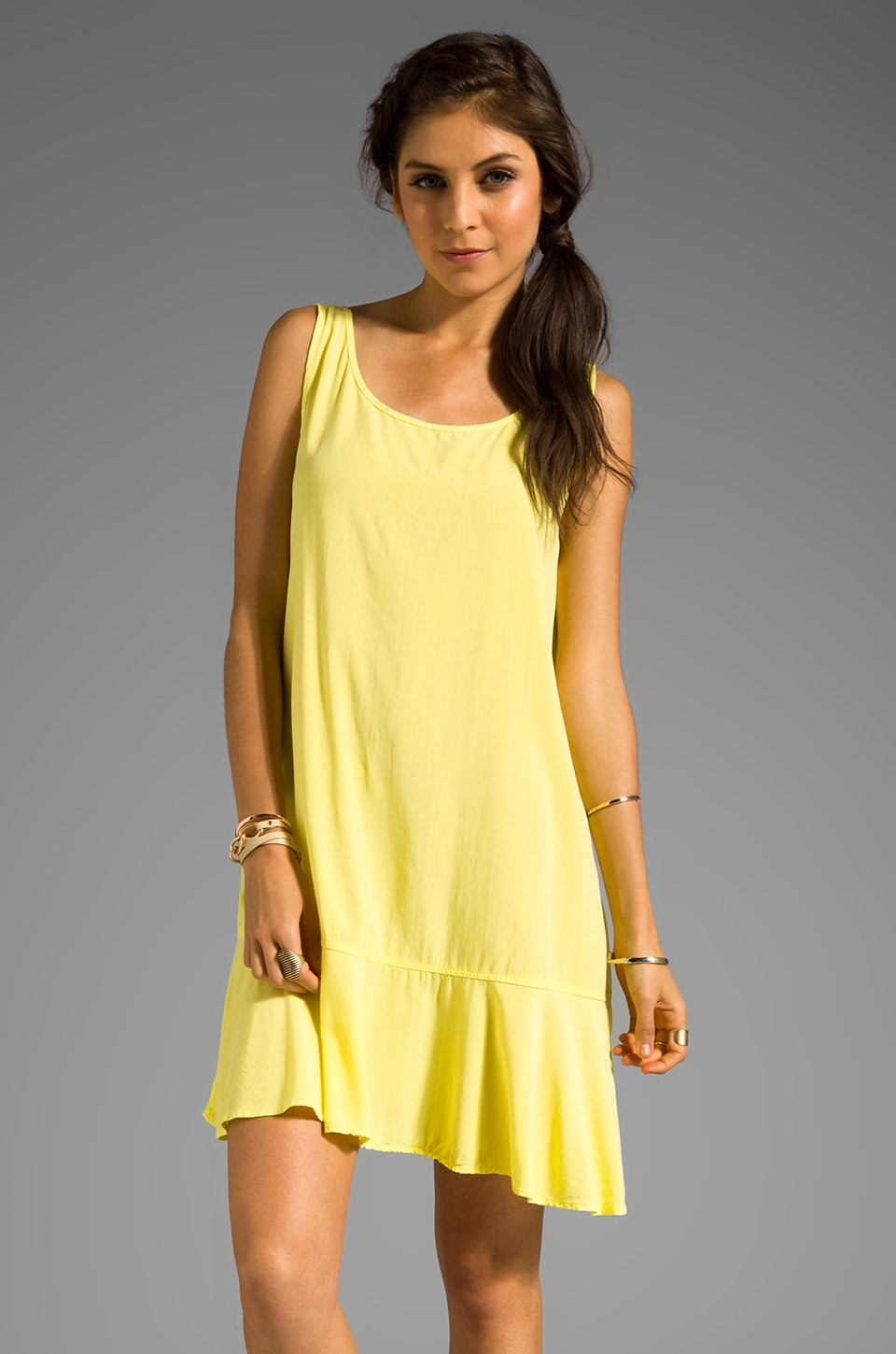 SAM&LAVI Adorina Dress in Light Yellow