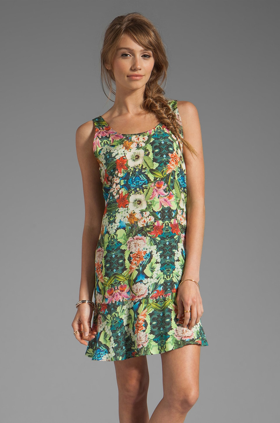 SAM&LAVI Hokulani Dress in Leilani Print