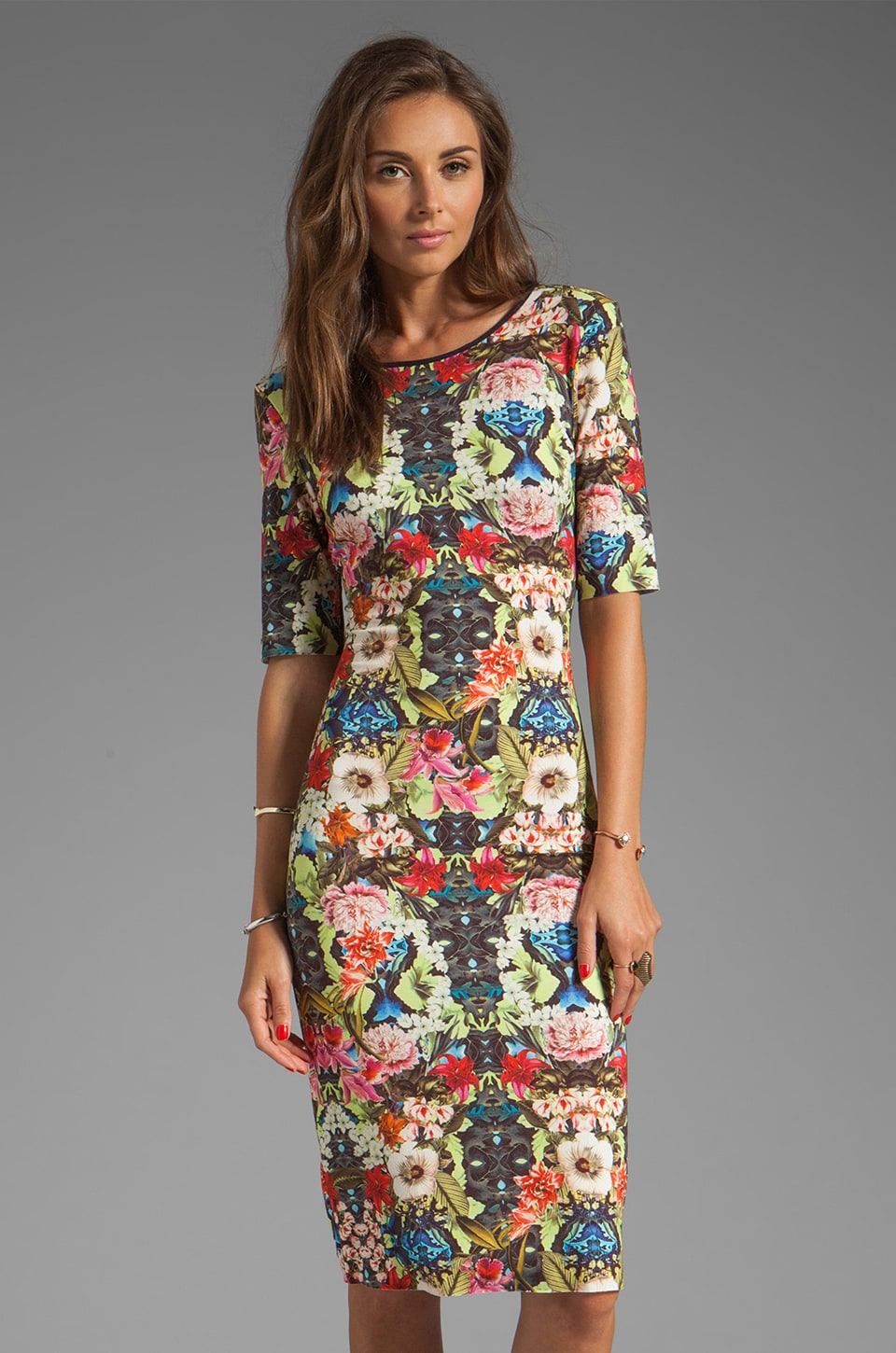 SAM&LAVI Nola Dress in Leilani Print
