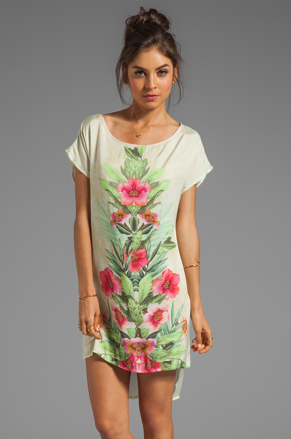 SAM&LAVI Fara Dress in Waikiki Print