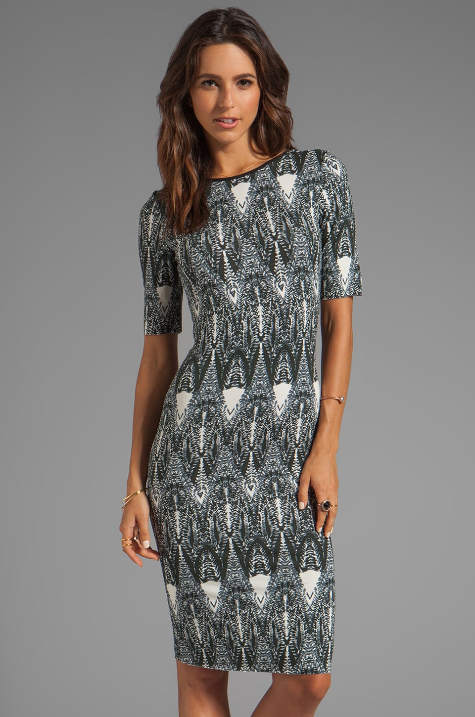 SAM&LAVI Amari Dress in Jungelina Print