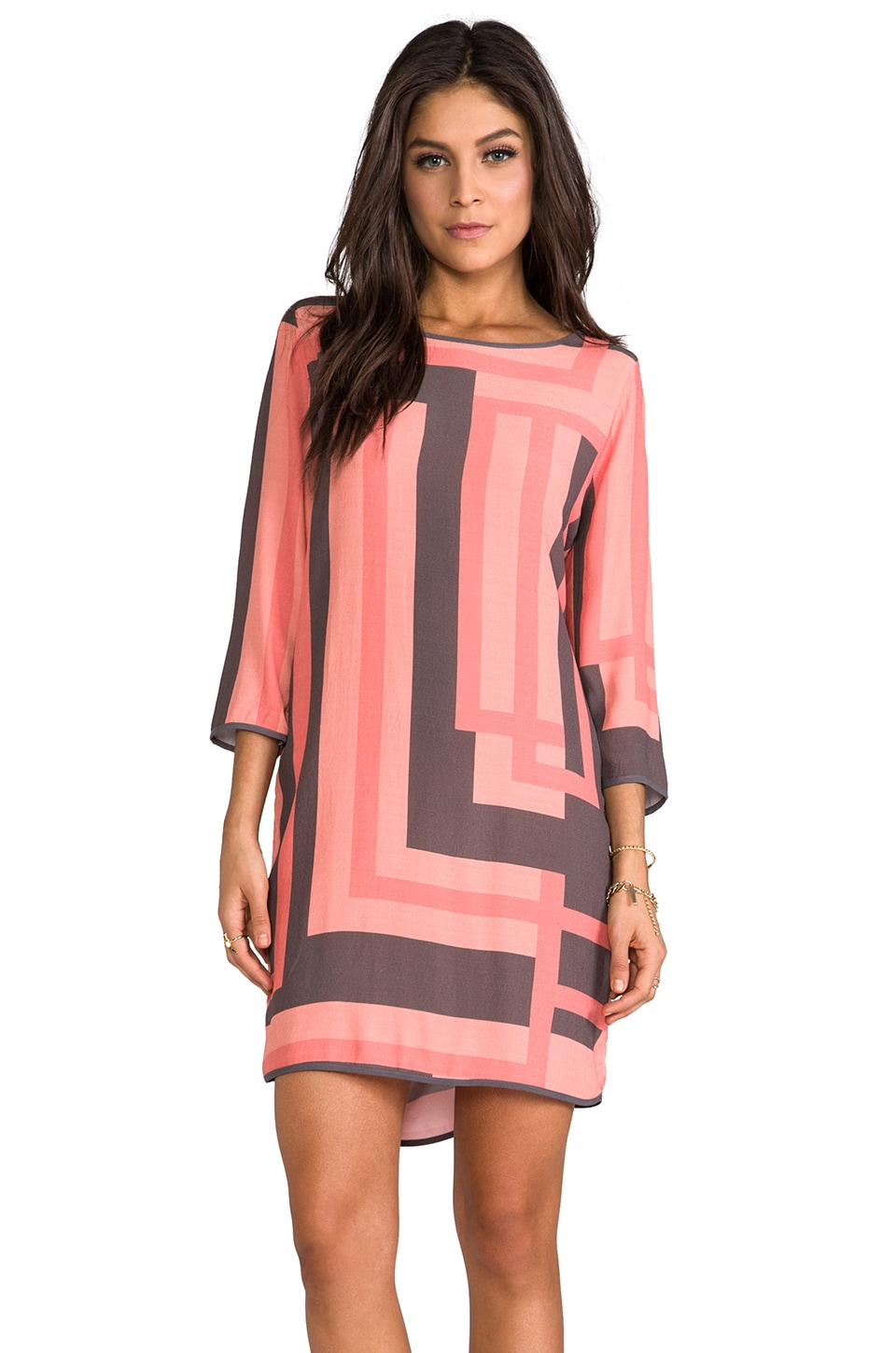 SAM&LAVI Chantelle Shift Dress in Twiggy
