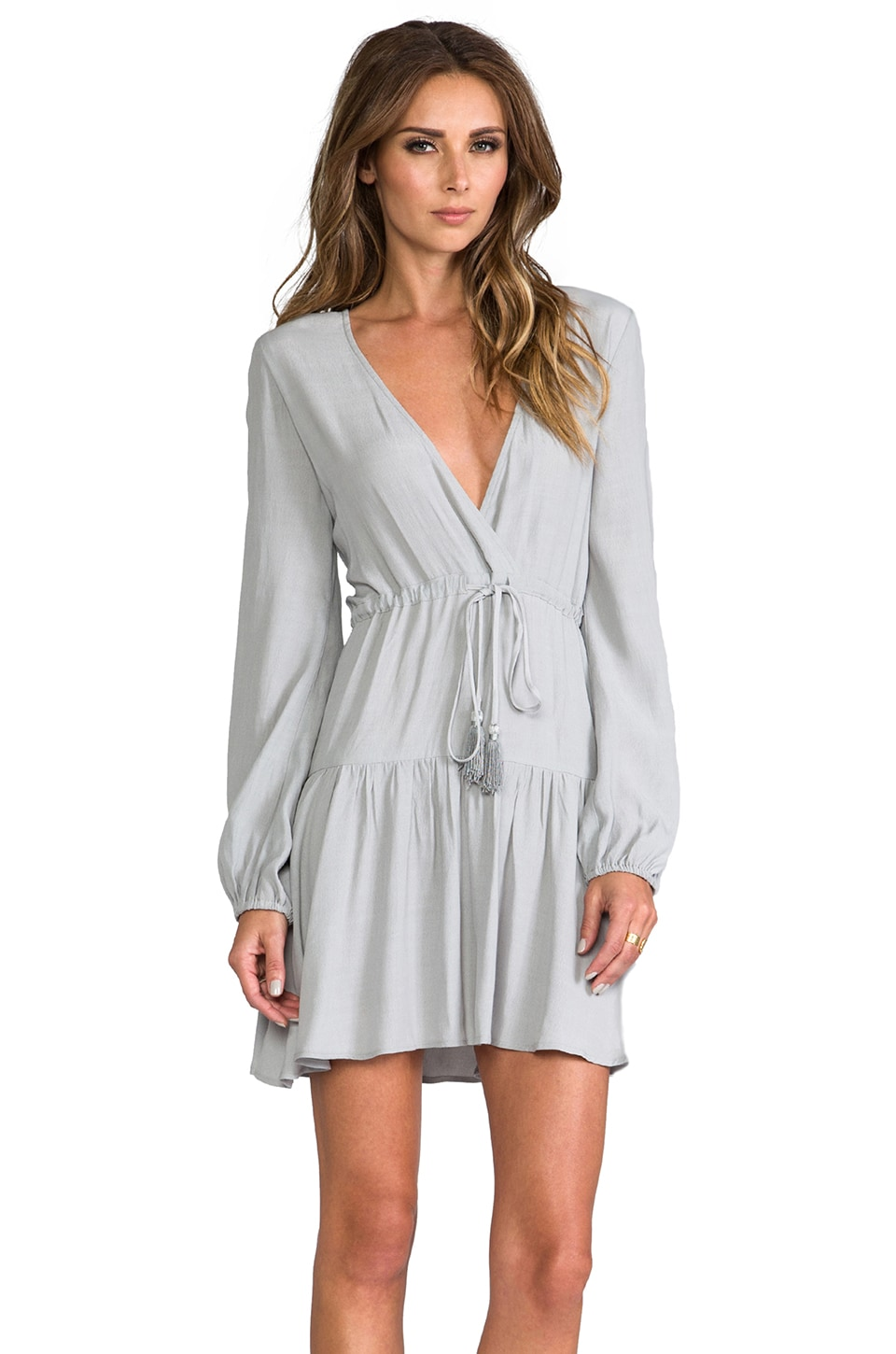 SAM&LAVI Gianna Dress in Dove Grey
