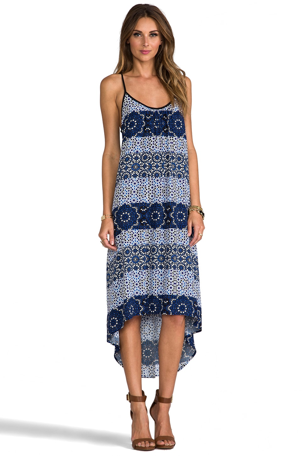 SAM&LAVI Sena Dress in Turkish Tiles