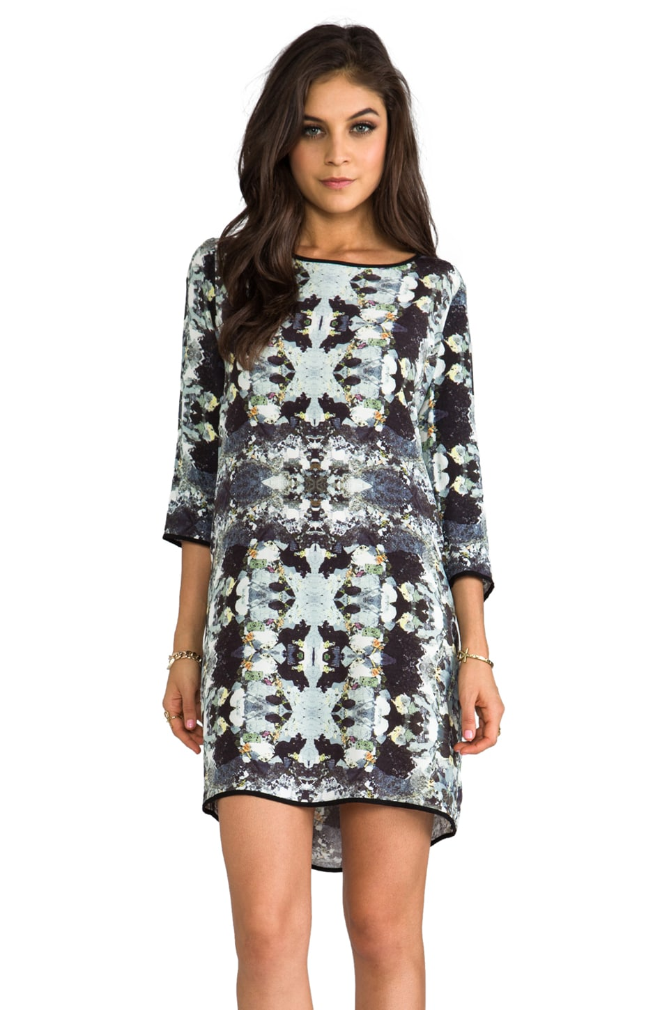 SAM&LAVI Zahara Shift Dress in Kaleidoscope