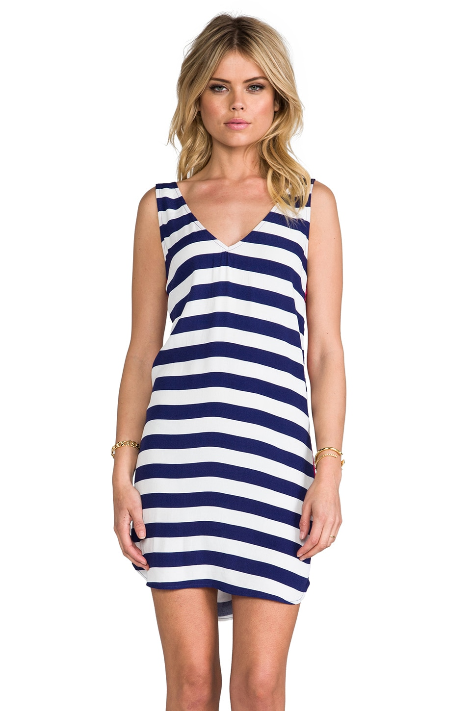 SAM&LAVI Harbor Dress in Stripe