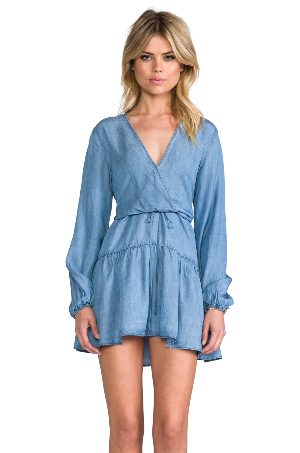 SAM&LAVI Savannah Dress in Chambray