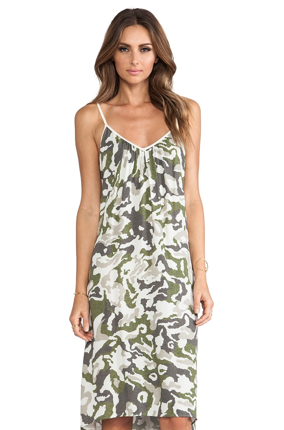 SAM&LAVI Chloe Dress in Camo Amo