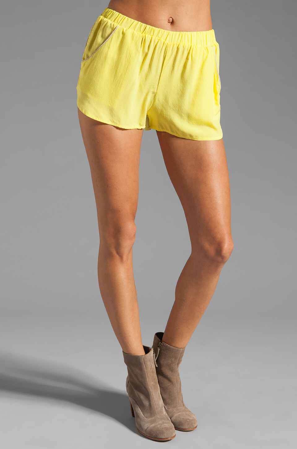 SAM&LAVI Yuri Short in Bright Lime