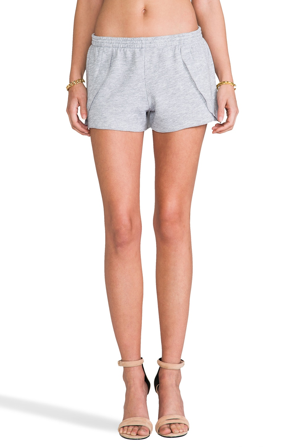 SAM&LAVI Kathryn Shorts in Heather Grey
