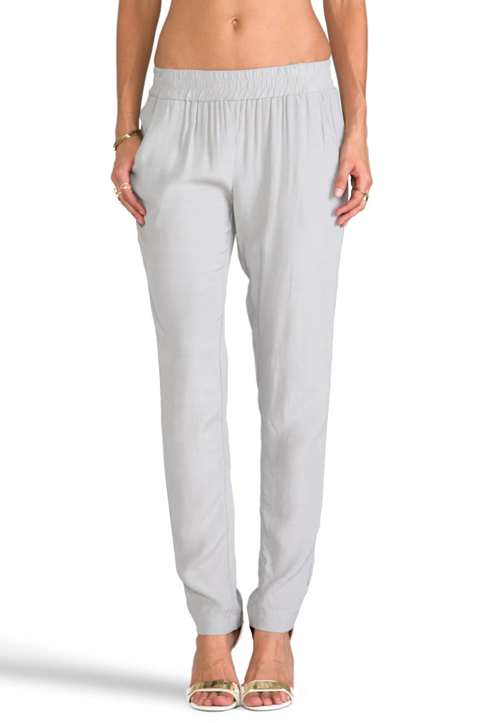 SAM&LAVI Brynn Pants in Dove Grey