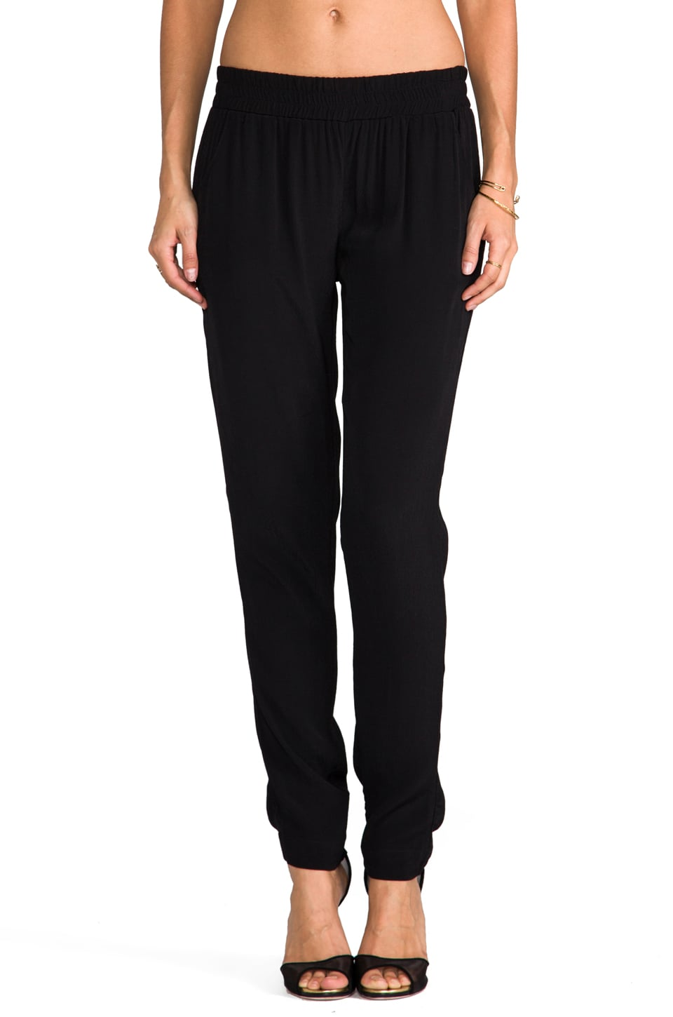 SAM&LAVI Lexi Pants in Black