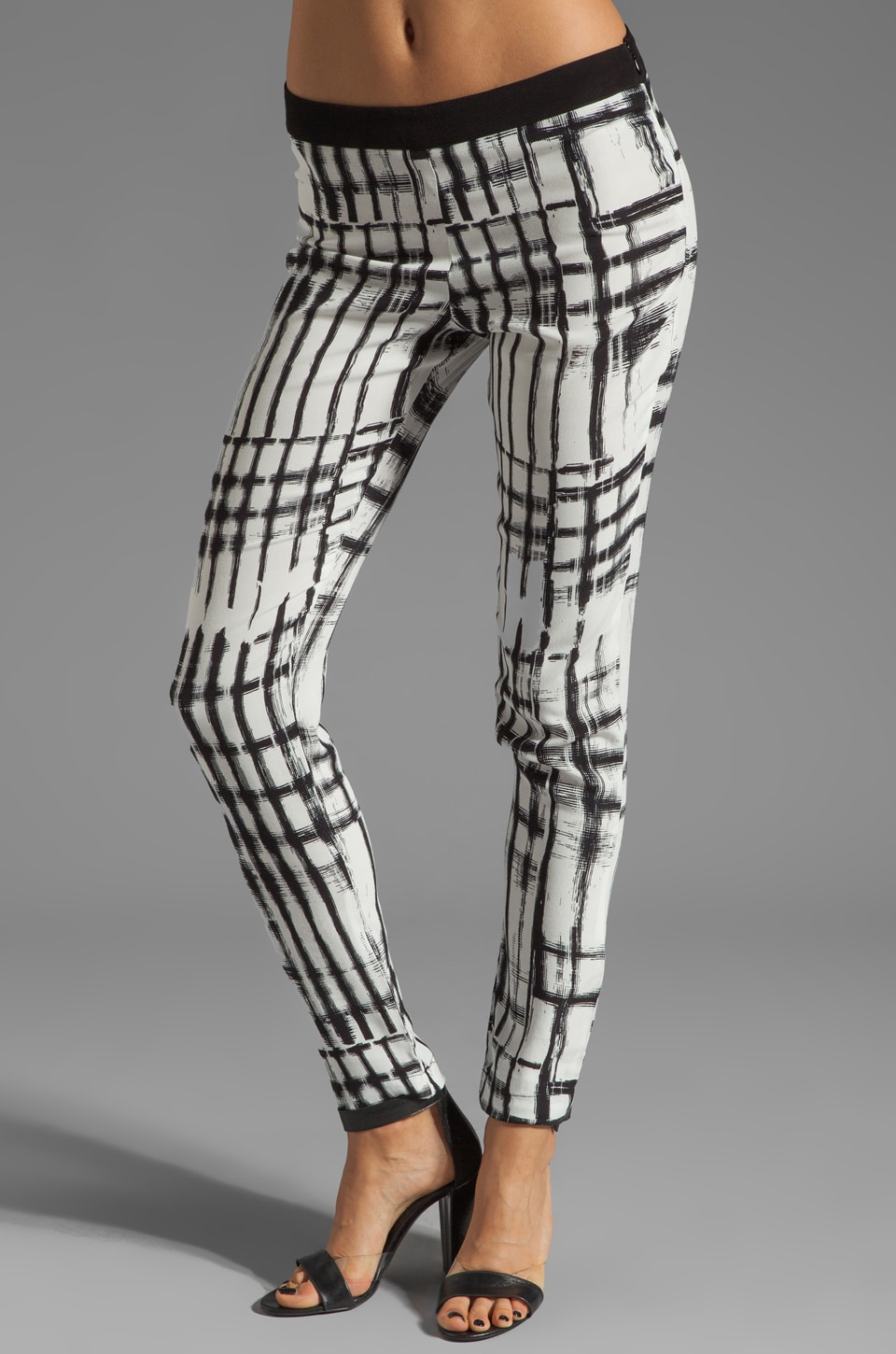 SAM&LAVI Lora Pant in Techno Plaid