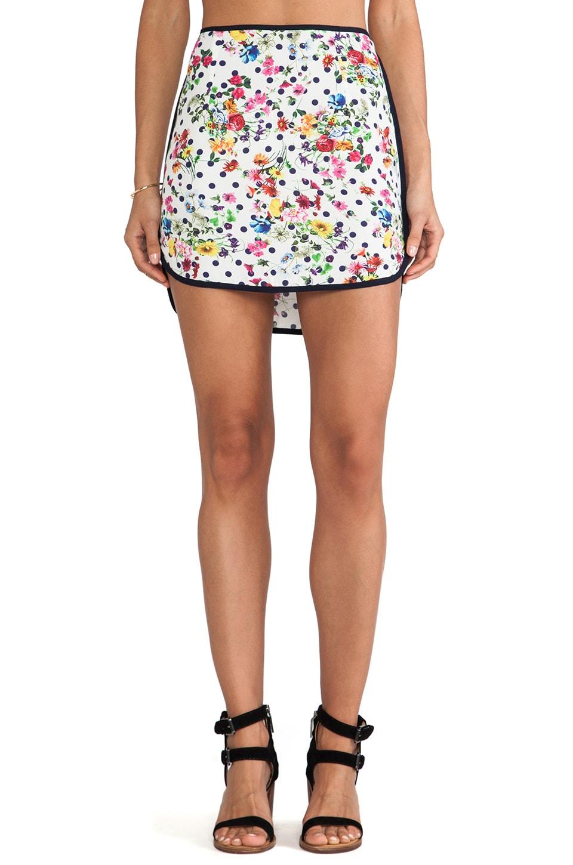SAM&LAVI Fleur Skirt in Polka Dot Floral