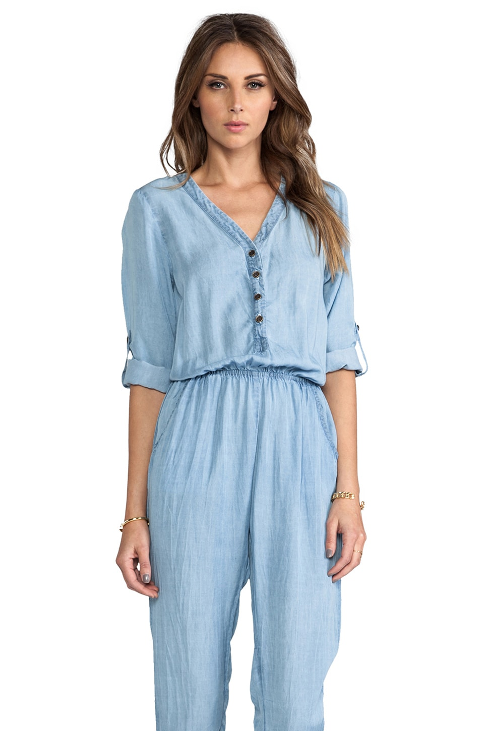 SAM&LAVI Ryleigh Jumper in Chambray