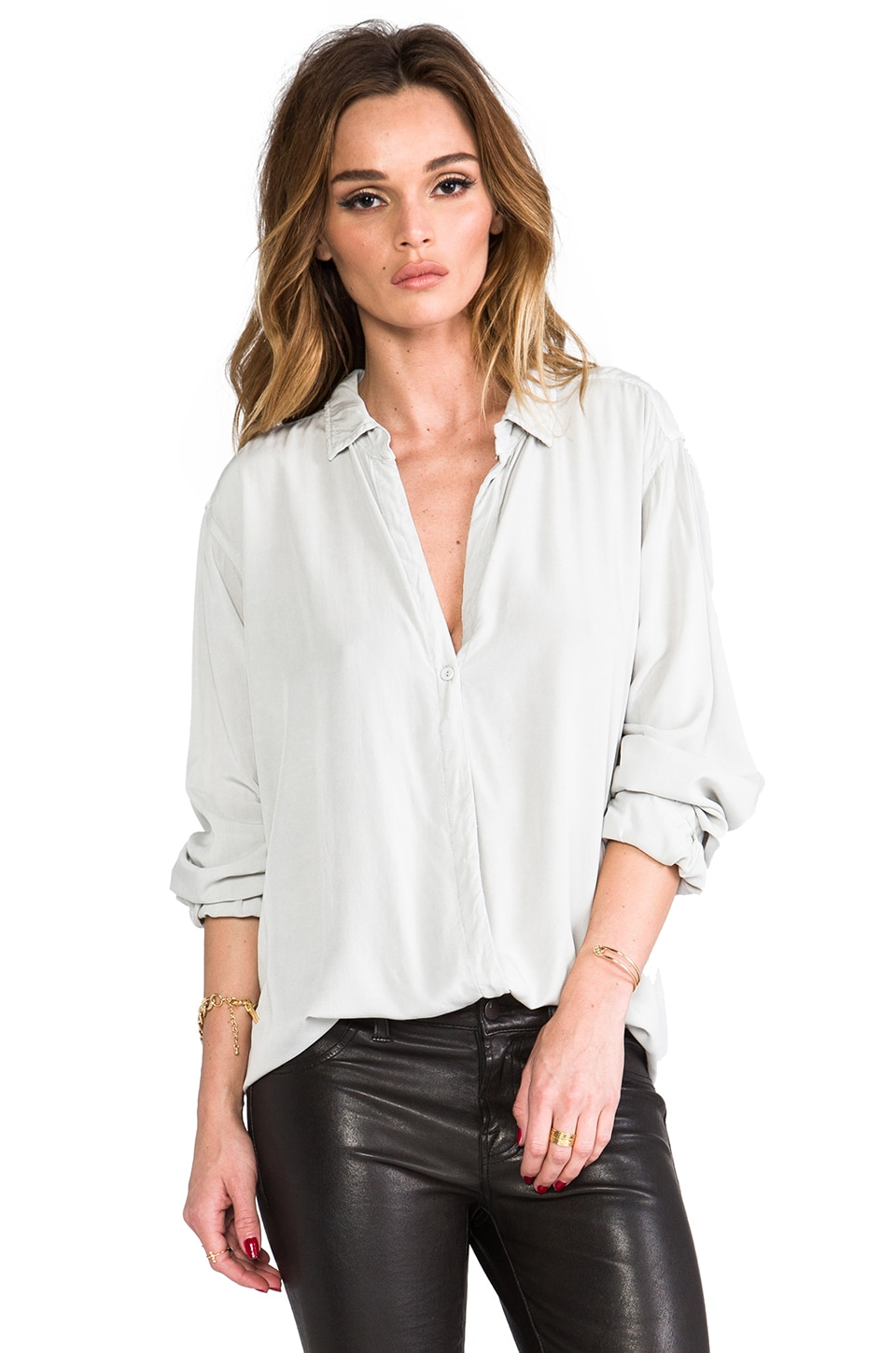 SAM&LAVI Florence Top in Grey
