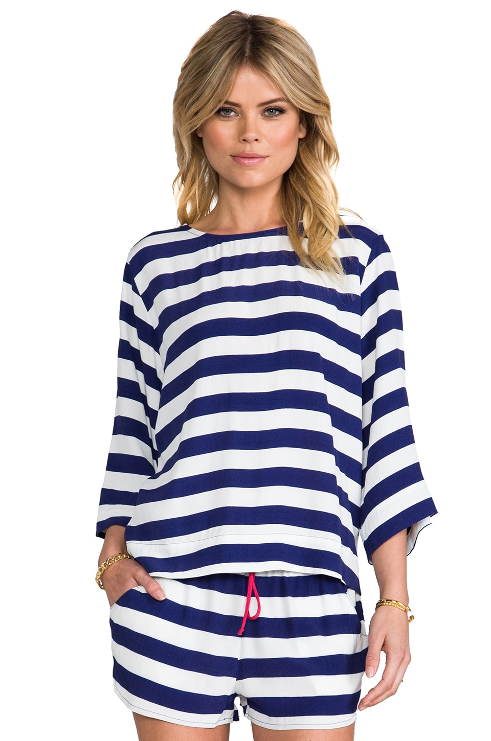 SAM&LAVI Lexington Top in Stripe