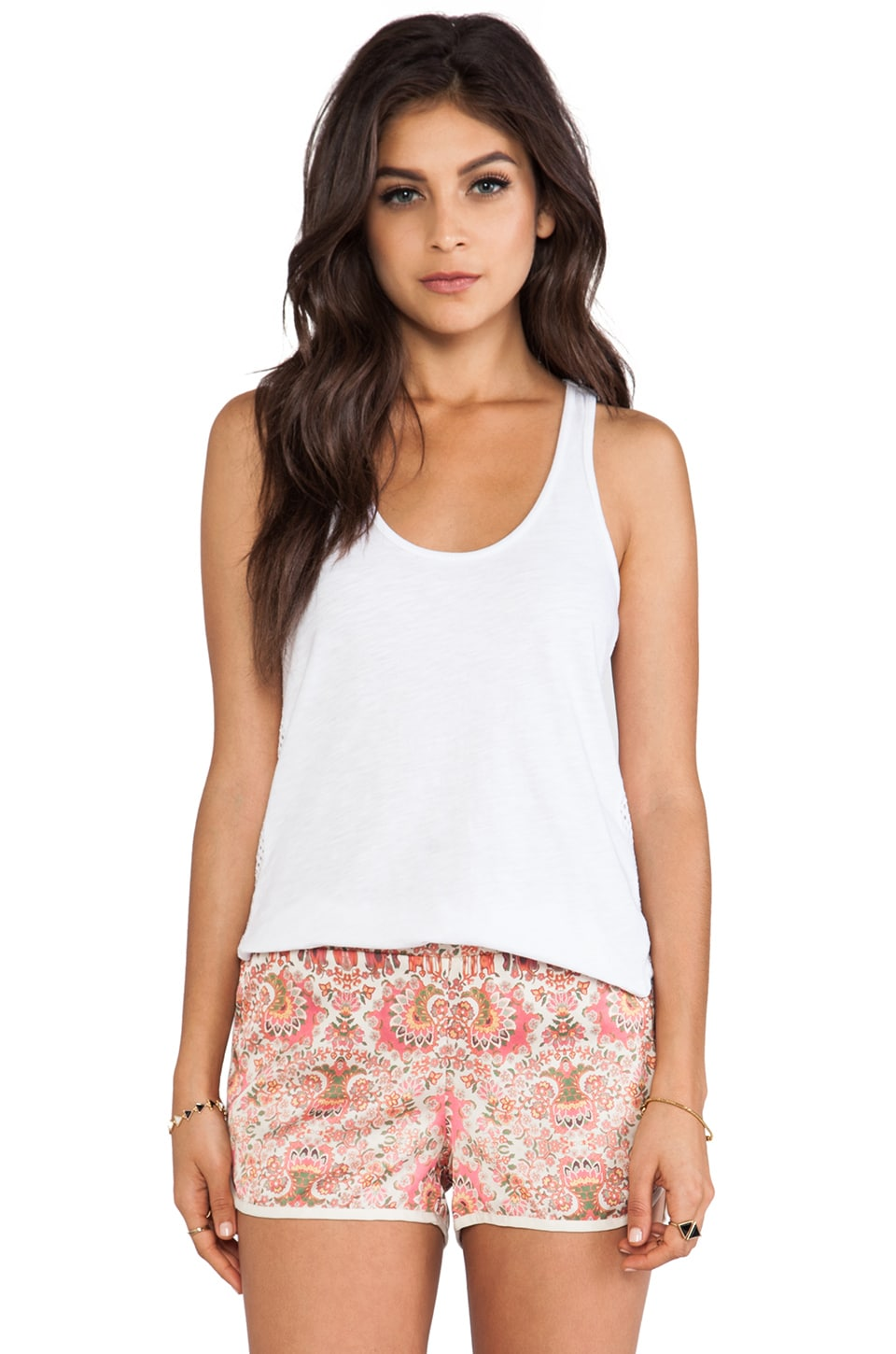 SAM&LAVI Liv Tank in White