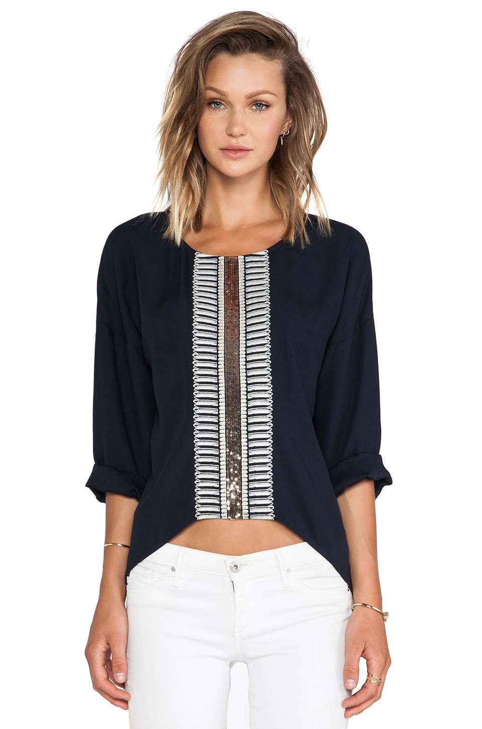 Sass & Bide On The Spot Pullover in French Navy