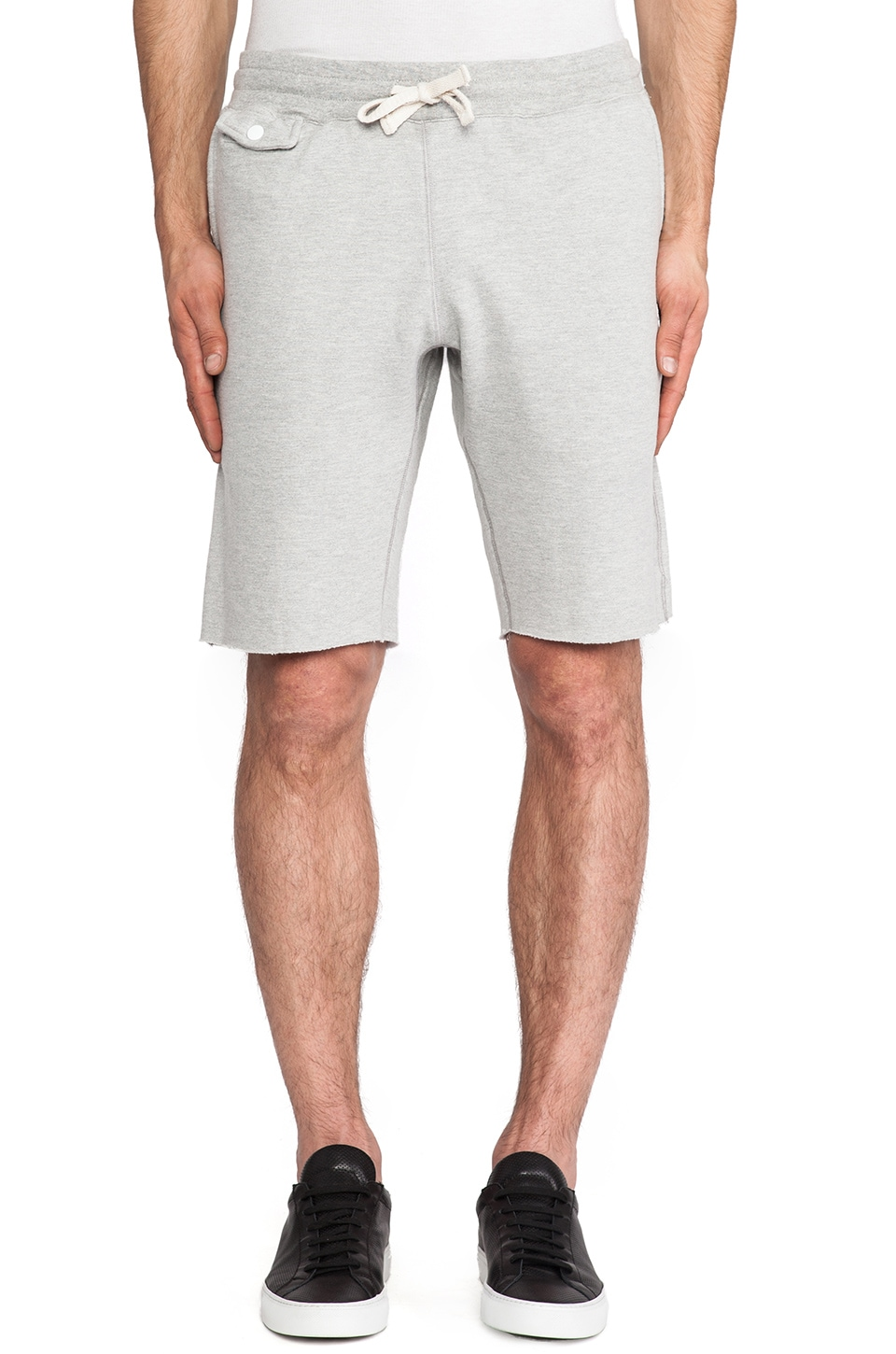 S&H Athletics Marino Sweatshort in Heather Grey
