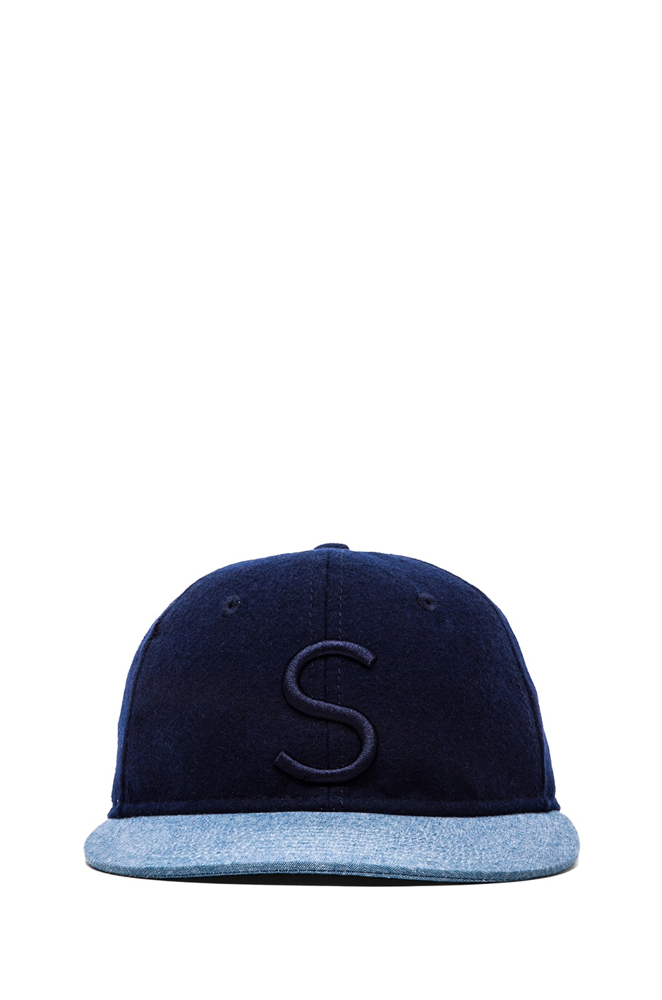 SATURDAYS NYC Rich Hat in Steel Blue