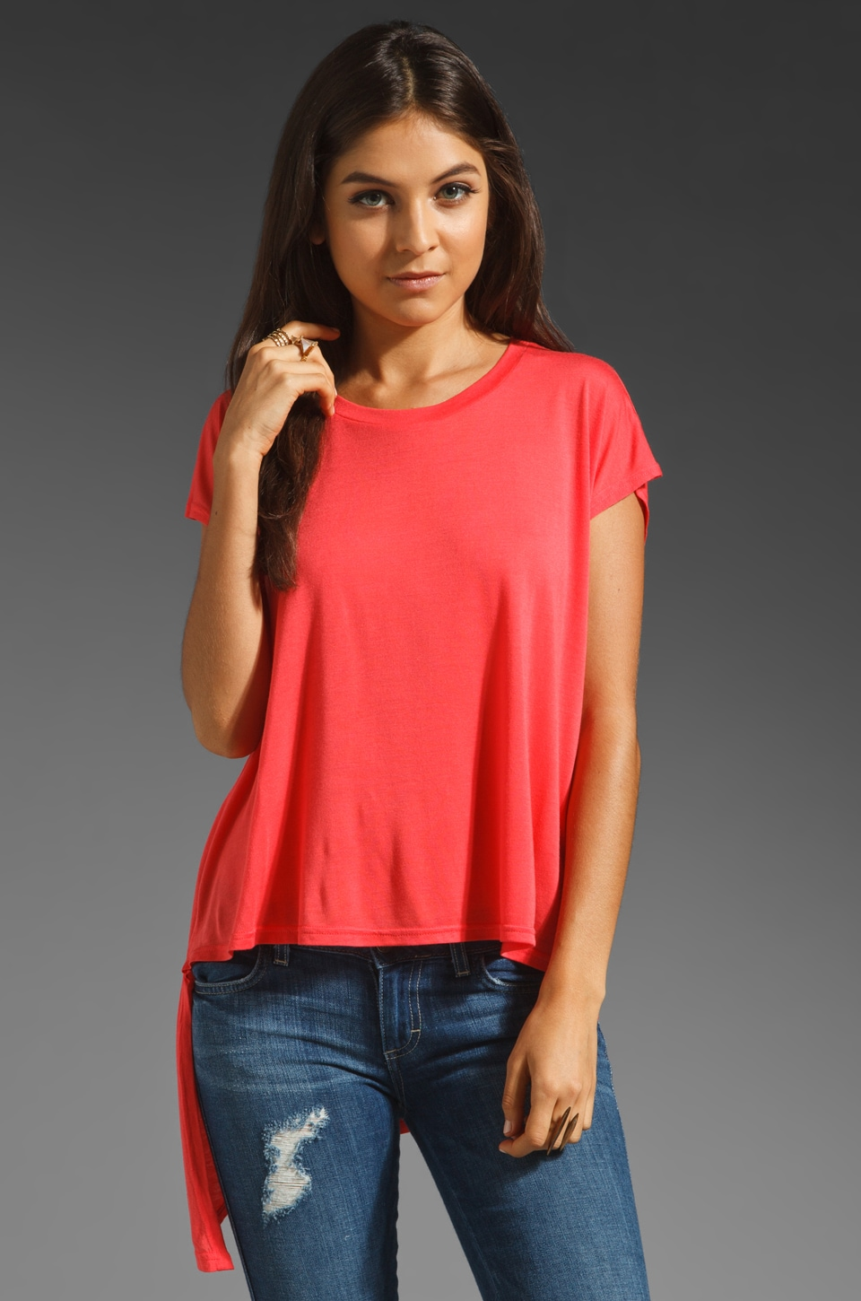 Sauce A Sem Tee in Red