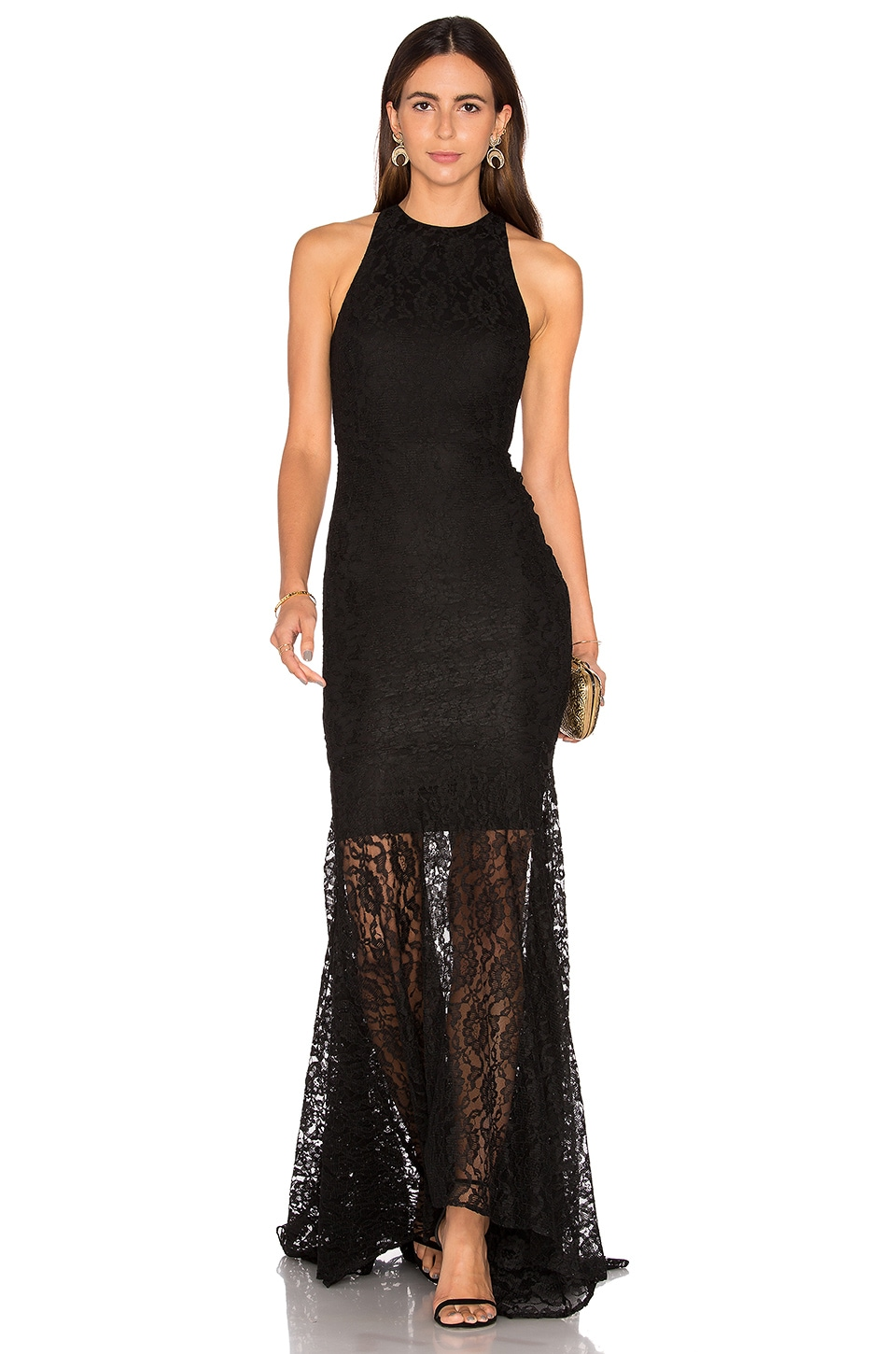 SAU Sara Gown in Black