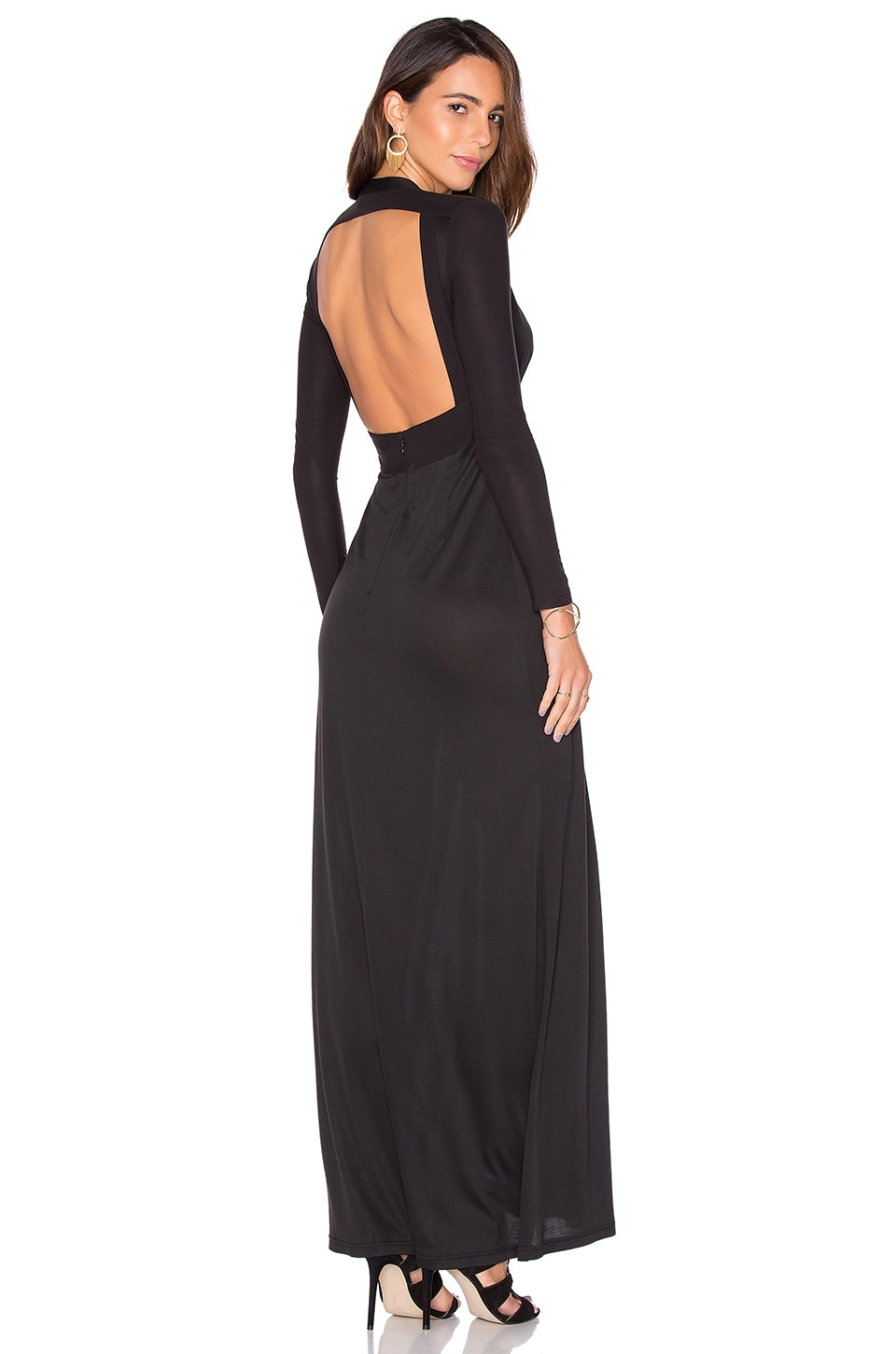 SAU Zara Gown in Black