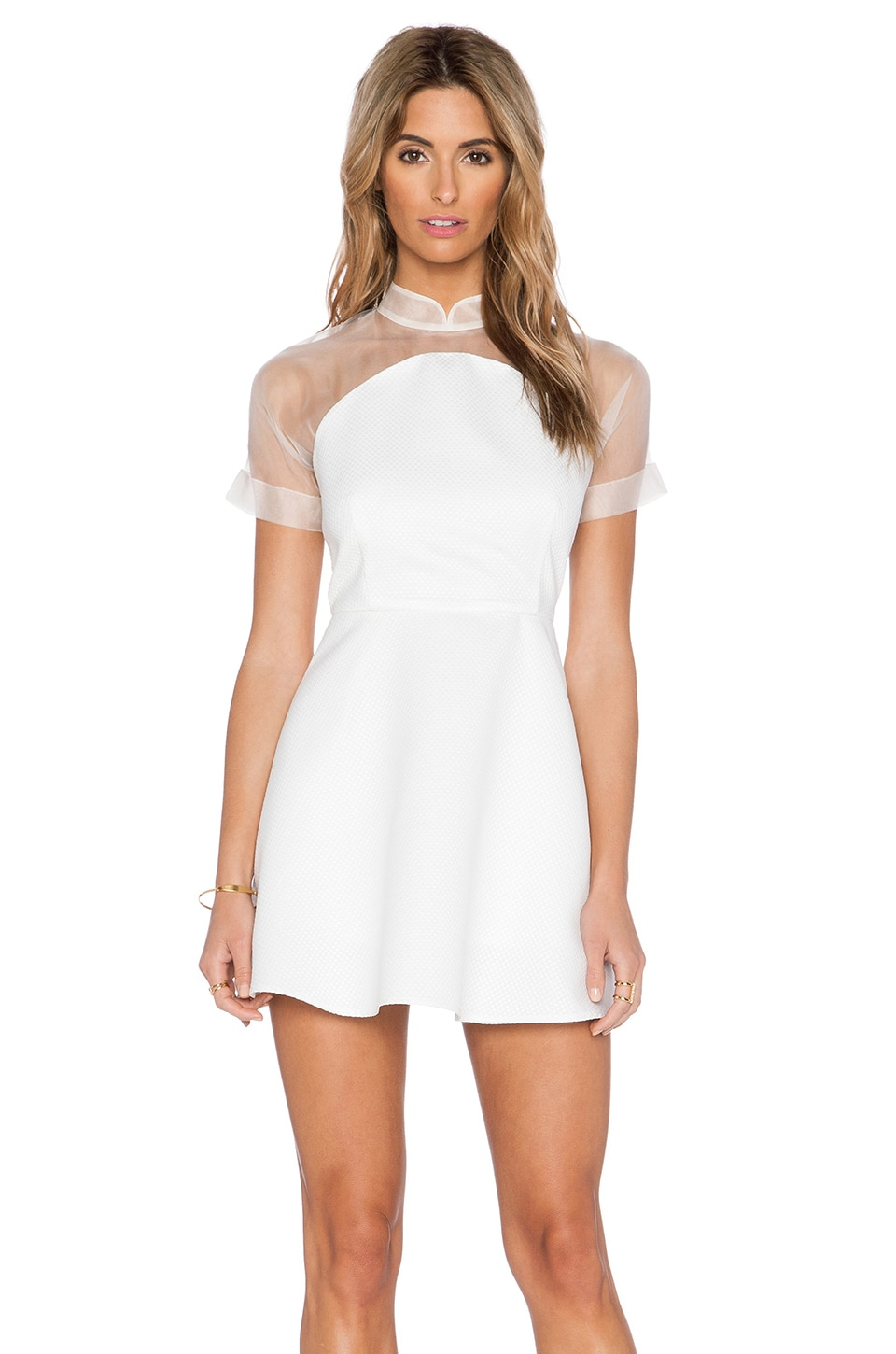SAU Sophie Dress in White