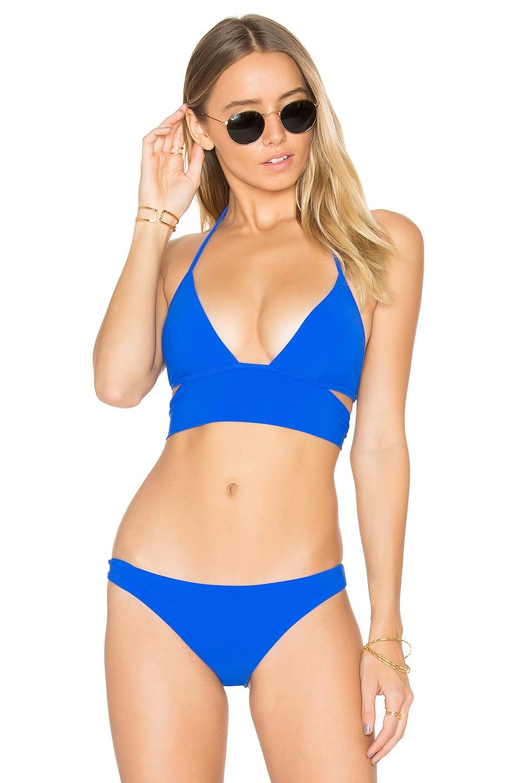 Mon Cheri Banded Bikini Top by Sauvage