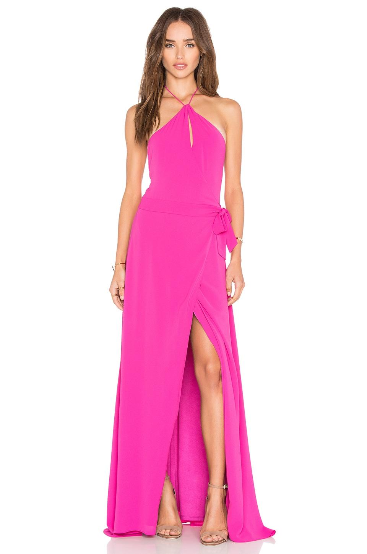 SAYLOR x REVOLVE Portia Maxi Dress in Berry