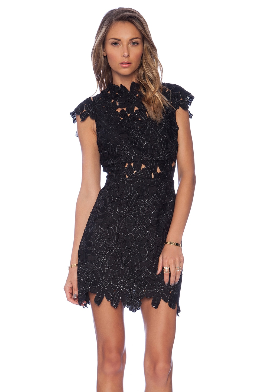 SAYLOR Piper Dress in Black