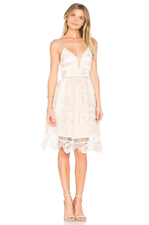 SAYLOR Hattie Dress in Blush
