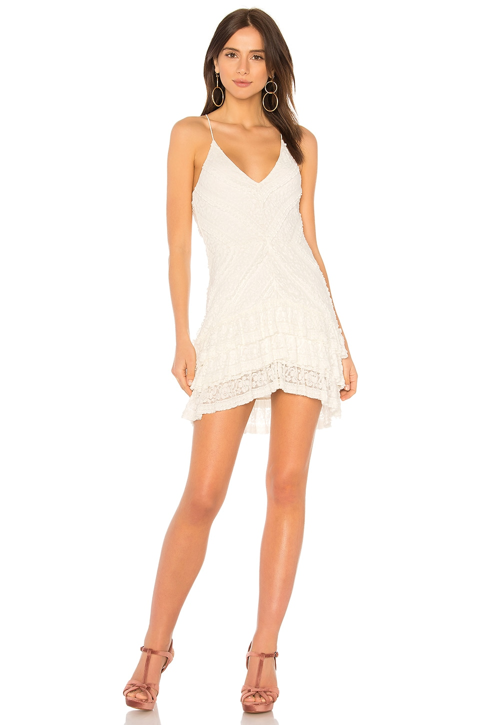 SAYLOR Clyde Dress in Ivory