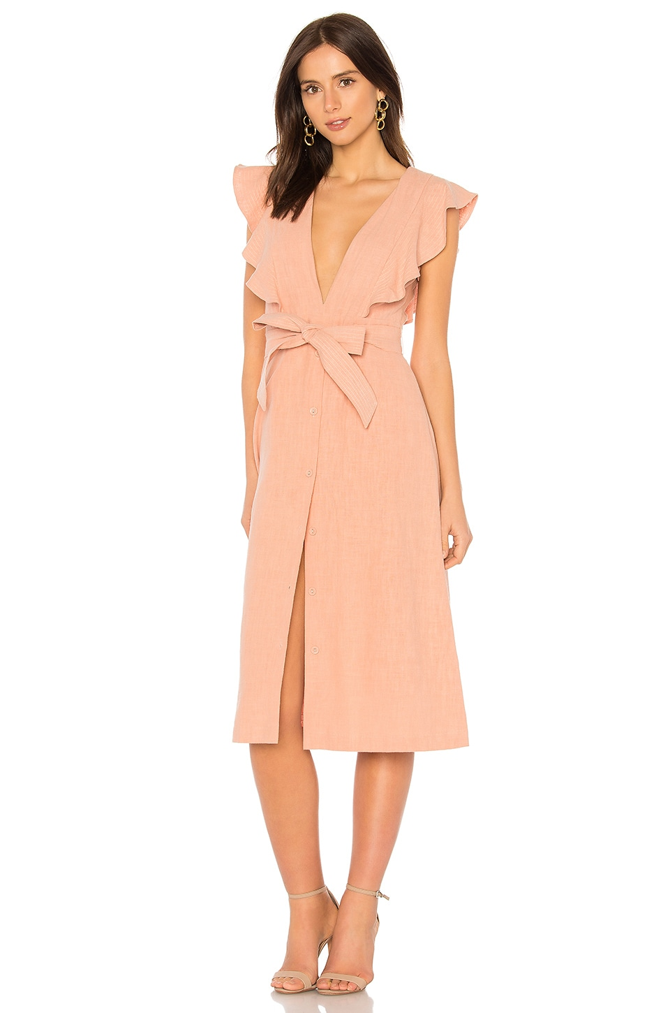 SAYLOR Sue Dress in Dusty Coral