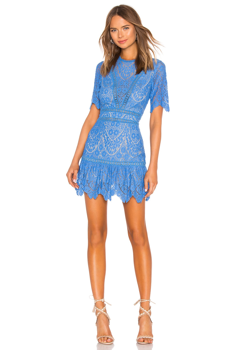 SAYLOR Darian Dress in Blue