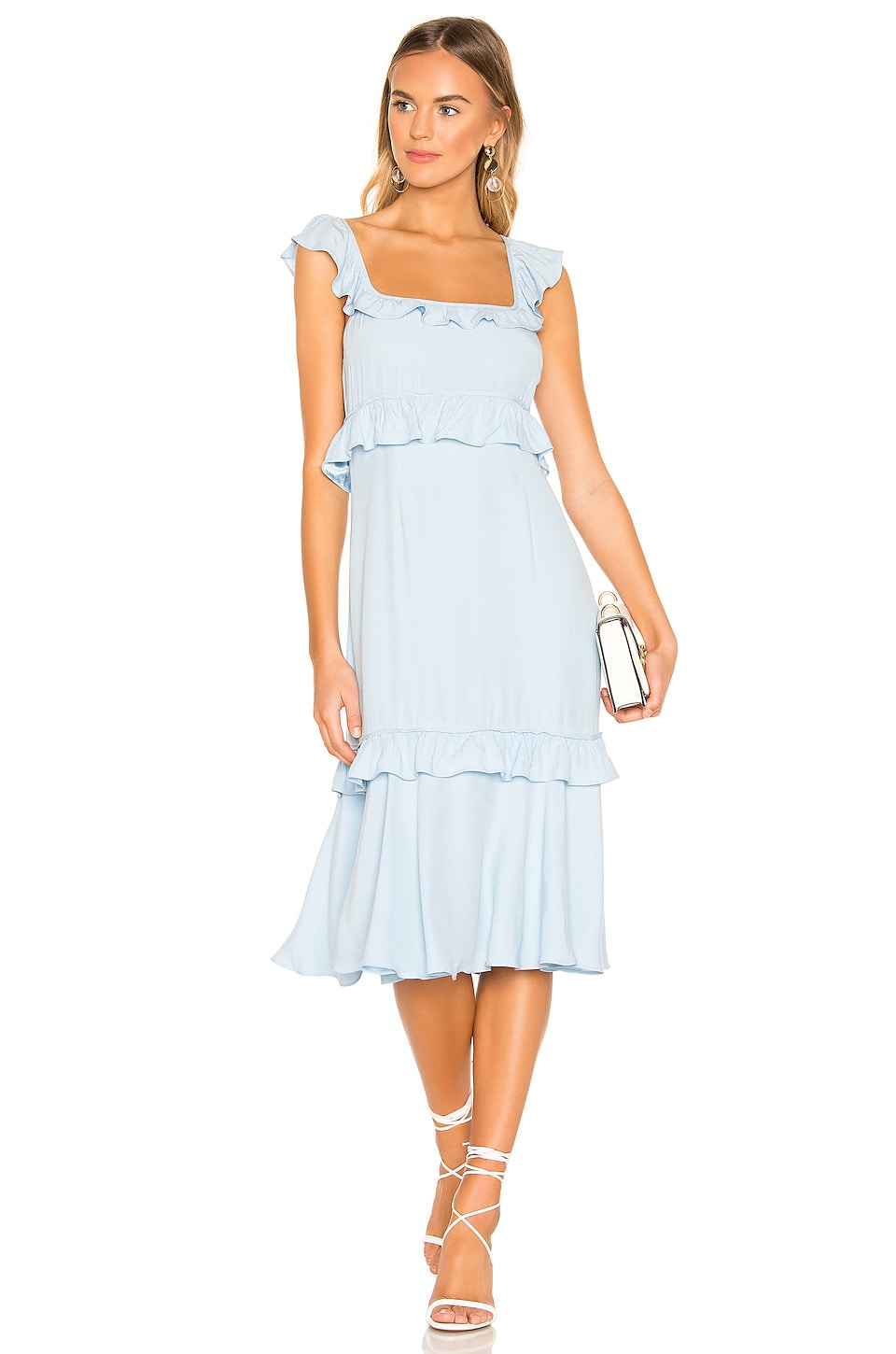 SAYLOR Maxine Dress in Ice Blue