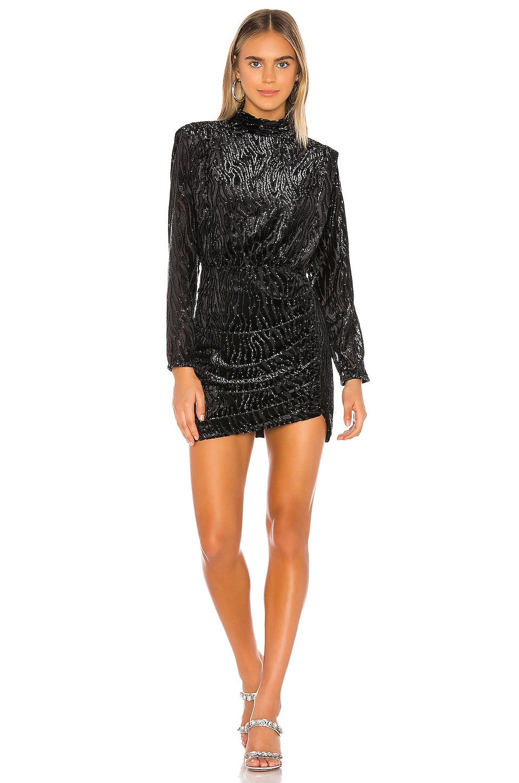 SAYLOR Monroe Dress in Black