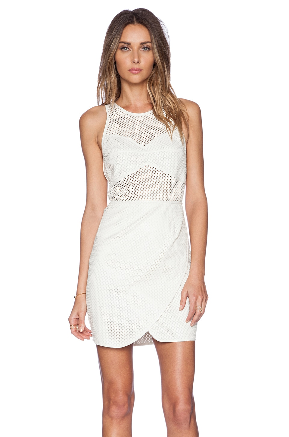 SAYLOR Gisel Dress in White