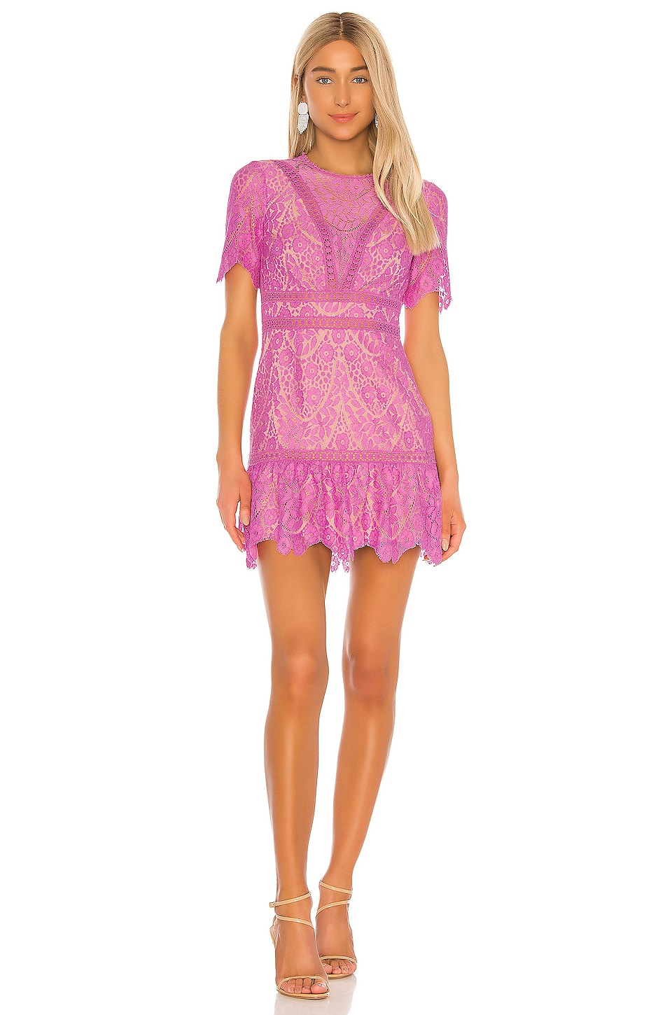 SAYLOR x REVOLVE Darian Dress in Lilac