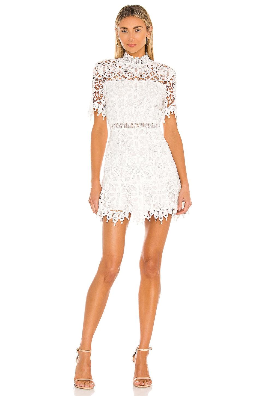 SAYLOR Vreni Mini Dress in White