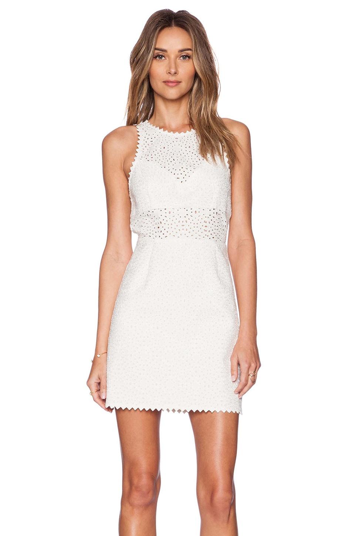 SAYLOR Roslyn Dress in White