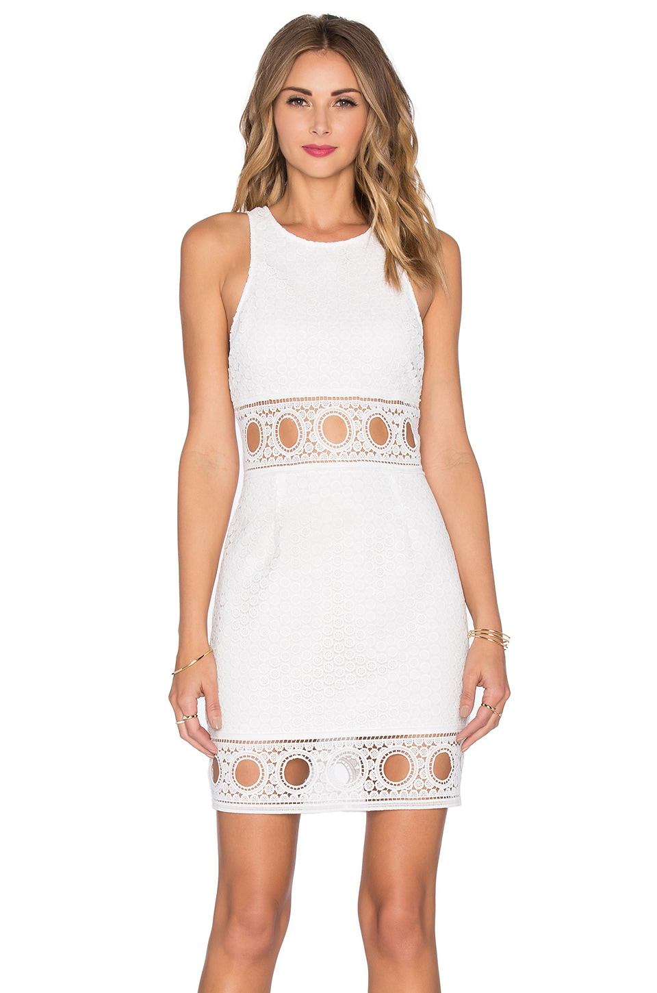 SAYLOR Kaelyn Dress in White