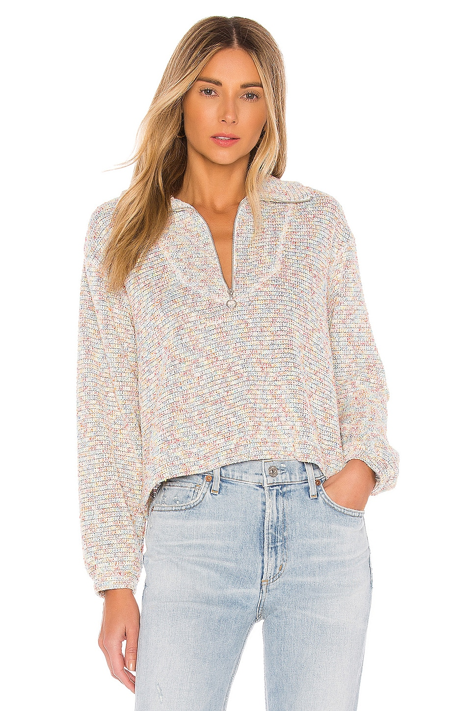 SAYLOR Lexington Sweater in Multi