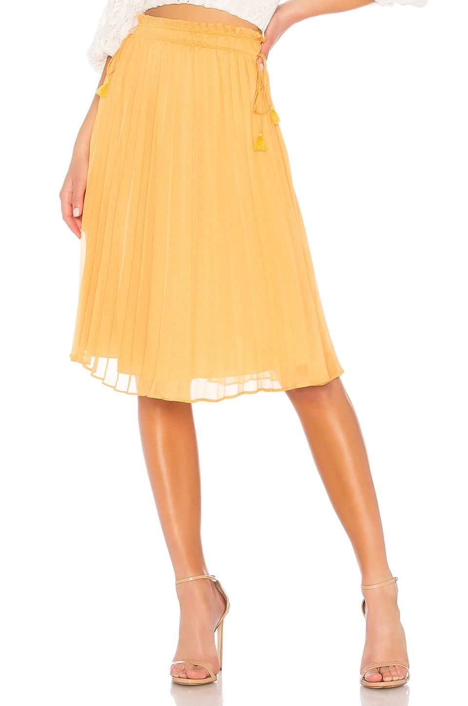 SAYLOR Alberta Skirt in Mustard