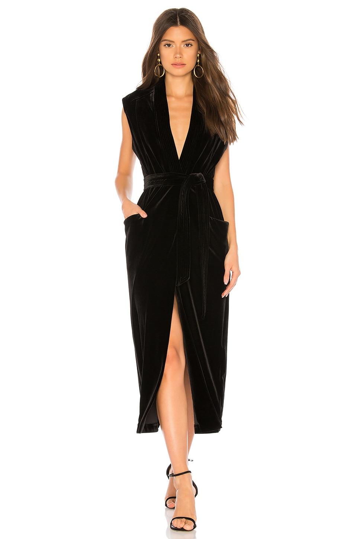 Iris Velvet Dress